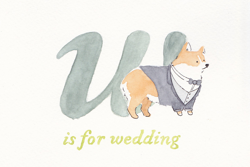 W is for wedding
